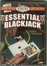 Essential Blackjack -  A Guide for Players and Dealers - DVD 2006 - NEW