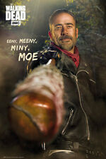 THE WALKING DEAD NEGAN EENY MEENY 91.5 X 61CM POSTER NEW OFFICIAL MERCHANDISE