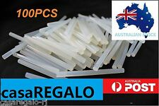 100pc Hot Clear Melt Glue Adhesive Sticks For Glue Gun 7mm x 100mm