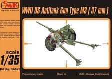 CMK 1/35 US M3 37mm Anti-Tank Gun WWII [Diorama Resin Model kit] RA041