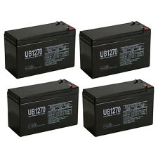 UPG 12V 7AH UPS Battery Replaces Vision CP1270 CP 1270 MK ES7-12 - 4 Pack