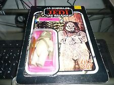 Super Rare Vintage Star Wars Lili Ledy ROTJ Lumat  Figure on Cardback!