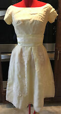 House of Bianchi Retro Vintage 1950's Prom Party Rockabiliy Tea Dress Chiffon 6