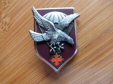 INSIGNE MILITAIRE Pucelle Armée Arthus Bertrand 11° DP parachutiste aigle occita