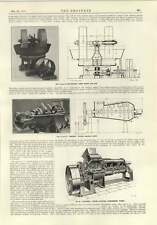 1915 Papermaking Perfect Pulper Watford Partington Disintegrator