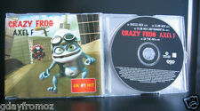 Crazy Frog - Axel F 4 Track CD Single
