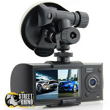Fiat Ducato Dual Dash Cam Split Screen With G-Sensor GPS Stamp