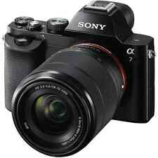 A - Sony Alpha A7 Full Frame Digital Camera with 28-70mm Lens - Refurbished