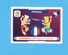 PANINI-EURO 2012-Figurina n.44- FRANCIA -NEW-WHITE BOARD