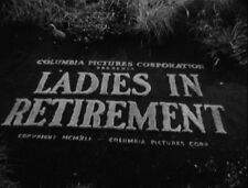 LADIES IN RETIREMENT, 1941, Ida Lupino, Louis Hayward thriller - DVD-R: Region 2