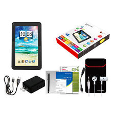 "9"" Quad Core Android 4.4 KitKat Cortext-A7 Tablet PC 8GB Dual Camera Wi-Fi USA"