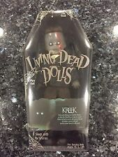 MEZCO TOYZ LIVING DEAD DOLLS SERIES 31 KREEK NEW SEALED FREE SHIPPING IN HAND