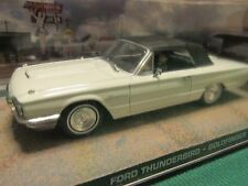 JAMES BOND CARS COLLECTION 042 FORD THUNDERBIRD GOLDFINGER