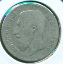 1867 BELGIUM 1 FRANC, GREAT PRICE!