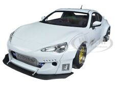 ROCKET BUNNY TOYOTA 86  METALLIC WHITE WITH GOLD WHEELS 1/18 BY AUTOART 78756