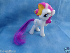 "McDonald's 2014 Hasbro My Little Pony Rarity Diamond Unicorn White  3"" PVC"