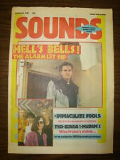 SOUNDS 1985 MAR 23 THE ALARMS IMMACULATE FOOLS PRINCE