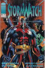 STORMWATCH lot (8) #0 #1 #2 #3 #4 #5 #17 + Sourcebook (1993 ) Image Comics FINE