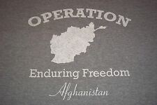 Operation Enduring Freedom Afghanistan T-Shirt Adult 2XL