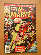 MARVEL: MS. MARVEL #1, CONFIRMED MOVIE,  HOT, KEY BOOK, 1976, FN/VF (7.0)!!!