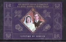 GIBRALTAR MNH 2011 LIFETIME OF SERVICE M/S