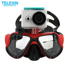 Diving Mask Scuba Snorkel Swimming Goggles Glasses for GoPro Hero 3 3+ 4 Xiaomi