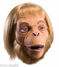 Planet of the Apes Dlx. Dr. Zaias Overhead Latex Mask One Size 68565 Rubies New