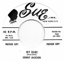 SONNY JACKSON - MY BABE  / JIMMY OLIVERS ORCH - THE SNEAK  SUE  RI/Re-Pro    R&B