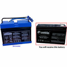 PEG PEREGO 12 VOLT 7 AH 8 AH SLIM BATTERY REPLACEMENT ***NEW*** 12v 7ah 8ah