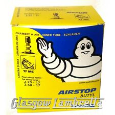 Set of 2 x MICHELIN AIRSTOP 17MC INNER TUBES     2.25-17 2.50-17