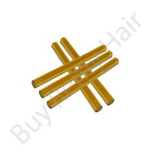 New 5 x  Large Amber Keratin Glue Sticks uk for pre-bonding hair extensions