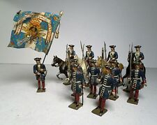 Lot of 15 MIGNOT CBG Toy Soldiers Flag Bearer Spearmen Horse Back Unknown