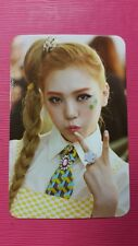 ORANGE CARAMEL LIZZY Official Photo Card 2nd LIPSTICK AFTER SCHOOL Photocard
