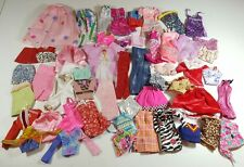 Barbie Huge Clothing Clothes Lot Dress Nightgown Tops Pants Shorts Skirts