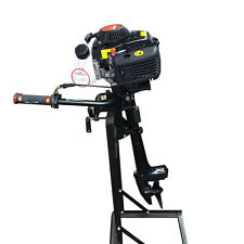 2.8kw 4HP 4-Stroke Outboard Motor Boat Engine With Air Cooling System USA