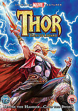 Thor: Tales of Asgard (DVD) Marvel Animated Feature, New & Sealed