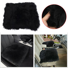 Genuine Sheepskin Long Wool Car Seat Covers Chair Cushion Seat Breathable Cover