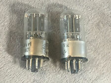 Pair Melz 6SL7 tubes.  located USA