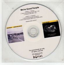 (FV599) We're Good People, The Mules - 2007 DJ CD