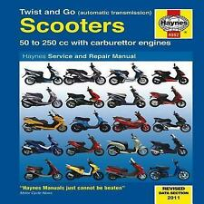 Twist and Go Scooters: 50 to 250 cc with Carburetor Engines (Haynes Manuals), He