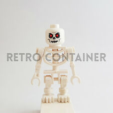 LEGO Minifigures - 1x cas328 - White Skeleton Warrior - Castle Omino Minifig