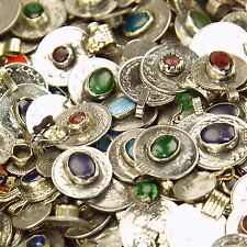 60 real Jeweled COINS Tribal BellyDance Kuchi - MIXED (( polished ))