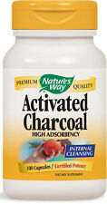 Activated Charcoal - 100 Capsules - Nature's Way