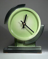 Echo Of Deco Art Deco Inspired Ceramic Aviator Mantel Clock