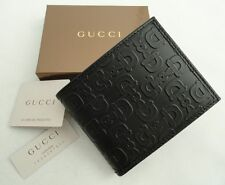 Gucci Black Leather Bi-fold Wallet Bag- Boxed- Perfect Gift!