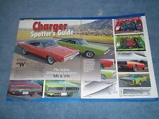"""1968 '69 Dodge Charger Differences Info Article """"Charger Spotter's Guide"""""""