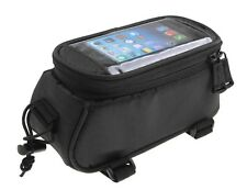 "Small Black Bicycle Central Bar Mobile Phone 4.2"" Holder Frame Bag iPhone 5/5s"