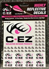 C-EZ Pink Highly Reflective Decals 20 Arrow Wrap Strips 8 Treestand Wraps