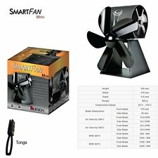 SmartFan Mini - Heat Powered Stove Fan - Brand New 2016 Model