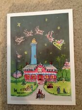 St Simons Island Lighthouse Christmas Cards Set by Artist Betty Lowe 10 Pack